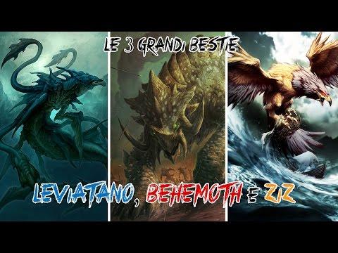 Le 3 Grandi Bestie: Leviatano, Behemoth e Ziz