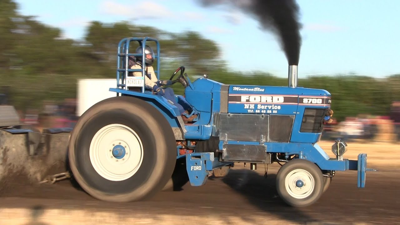 Ford Pulling Tractors : Ford quot montana blue tractor pulling rærup