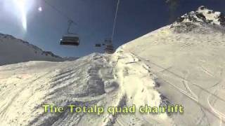 The Parsenn Gotchna ski Area above Davos Klosters Thumbnail