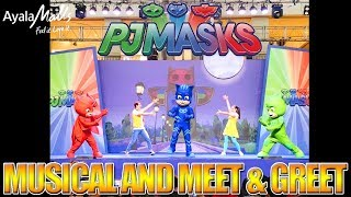 PJ MASKS Meet and Greet LIVE SHOW @ Abreeza, Davao City