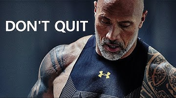 DON'T QUIT - Motivational Workout Speech 2020