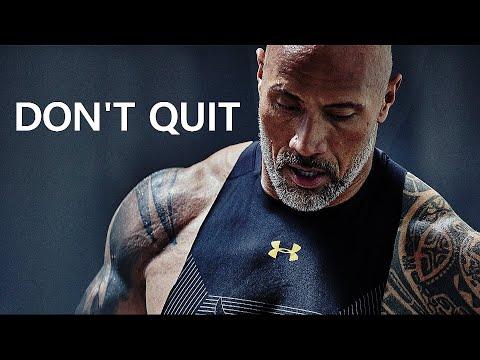 DON'T QUIT Motivational Workout Speech 2020