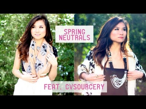Spring Neutrals with CVSourcery   Miss Louie