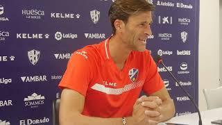 Rueda de prensa de Leo Franco, previa del Atlético de Madrid - SD Huesca (24/9/2018)