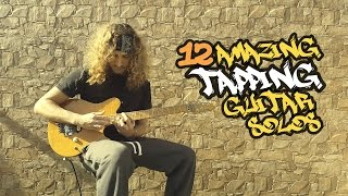 12 Amazing Tapping Guitar Solos