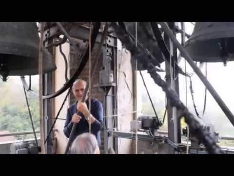 concerto di campane sul campanile di cantarana d'asti