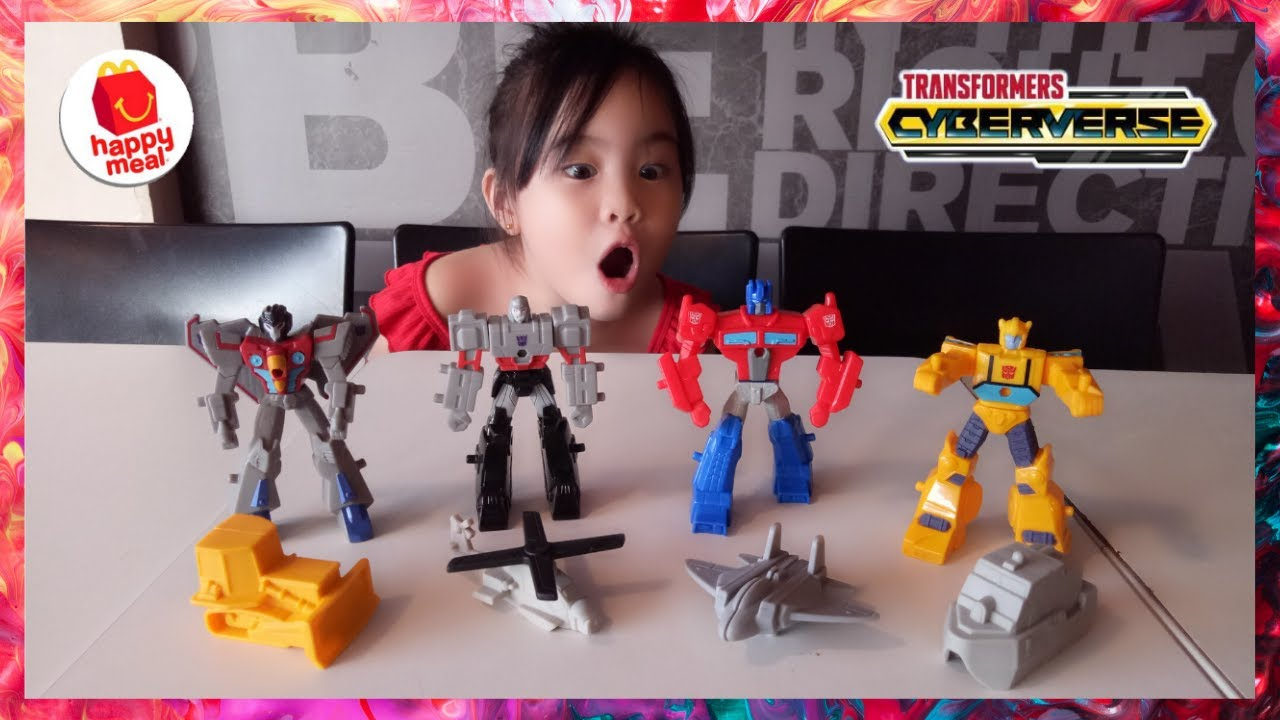 Mcdonald S Happy Meal Toys October 2019 Transformers