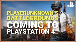 PUBG - PlayStation PS4 PLAYERUNKNOWN'S BATTLEGROUNDS Announce Trailer (2018) HD