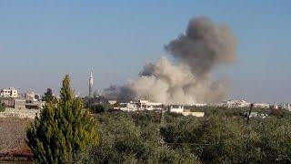 أخبار عربية - روسيا تواصل ارتكاب المجازر في مدينة حلب وريفها
