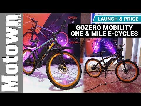 GoZero Mobility One & Mile e-cycle   Price & Walkaround   Motown India