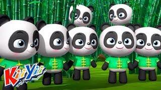 детские песни   10 маленьких зверят + Еще!   KiiYii   мультфильмы для детей