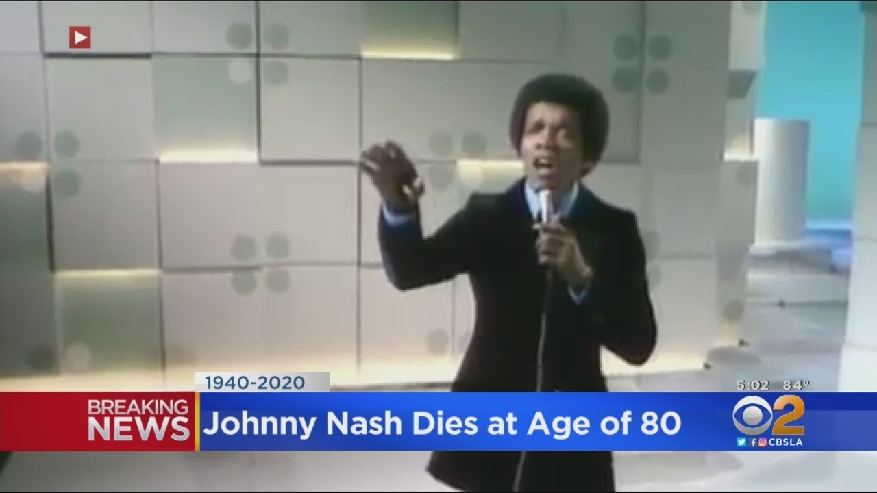 Johnny Nash Dies: 'I Can See Clearly Now' Singer-Songwriter Was 80