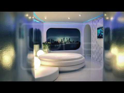 Wandgestaltung Wohnzimmer - 3D Wandpaneele | Raumausstattung Darmstadt Bardussow