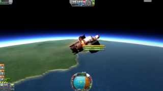 Kerbal Space Program - Lawnch Chair - 2.9t Crewed Minmus Mission