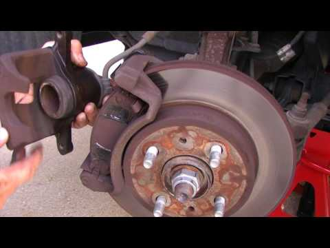 Front Brake Pad Replacement – 2002 Saturn SL Sedan