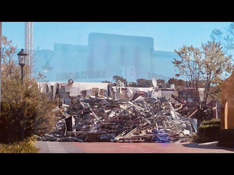 Demolition Of Movie Theater @ Broadway At The Beach | Myrtle Beach, SC