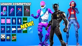 *NEW* Skins & Emotes..! (Purple Dino, Floss Emote, Rift Rock LEAKED) Fortnite Battle Royale