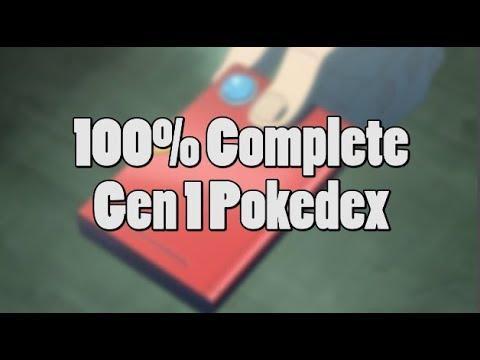 Pokemon Award for Catching all 151 Pokemon in the Original Games