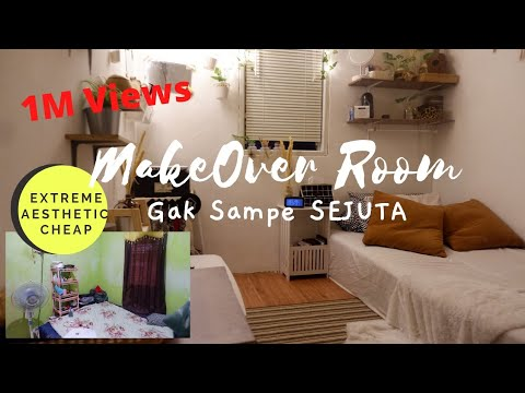 extreme-room-makeover-|-low-budget-dibawah-1jt-|-korean-style-|indonesia