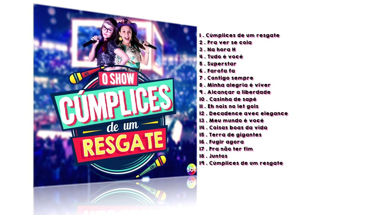 b39ad256b8d3b Show cúmplices de um resgate (Brasil) - CD Completo - YouTube