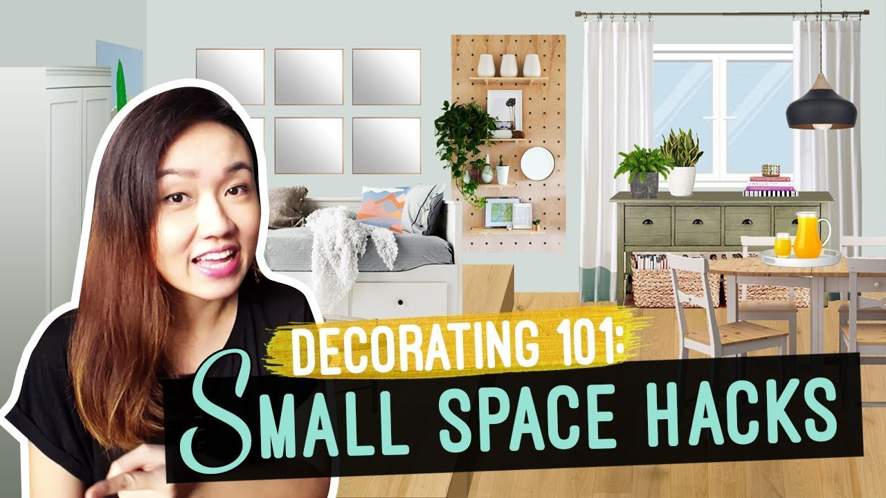 Small space hacks tricks to bigger looking space and - Small space living room designs philippines ...
