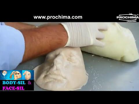 Make up gomma siliconica per calchi al viso al corpo for Gomma siliconica per calchi
