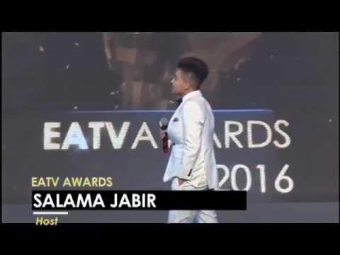 Salama Jabir kwenye #EATVAwards 2016