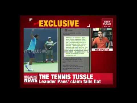 Paes Vs Bhupathi Over Team Selection For Davis Cup Uzbekistan Ties