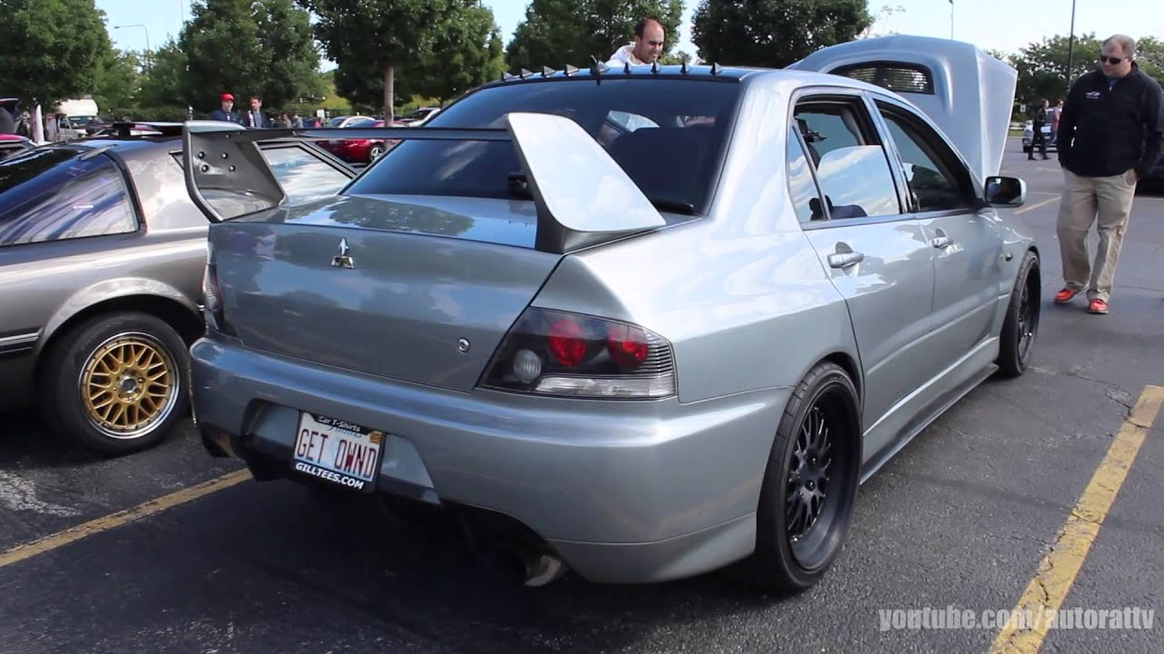 2003 lancer evolution startup revs 800 horsepower youtube