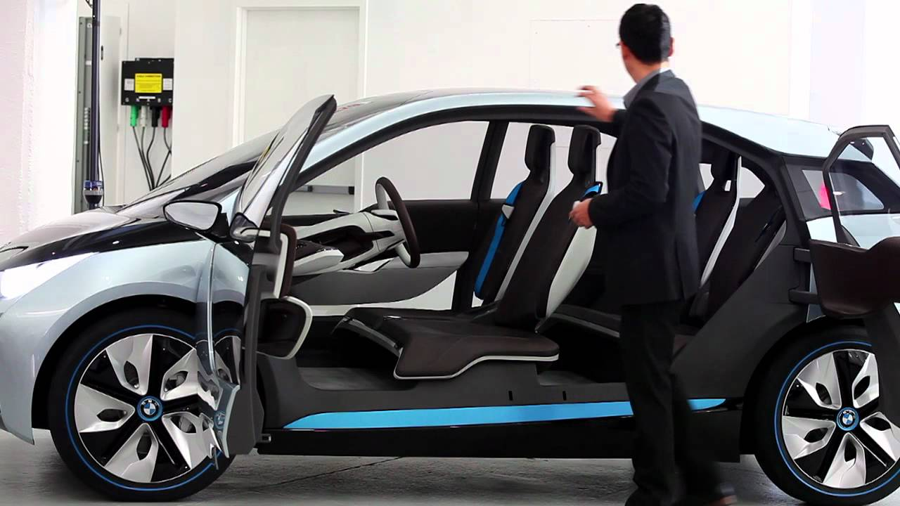 BMW I8 And I3 Concept: Born Electric