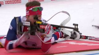 Compilation of video about norway team biathlon