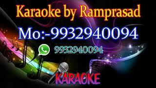 Jake pabona take ami karaoke 9932940094 Lata mangeshkar