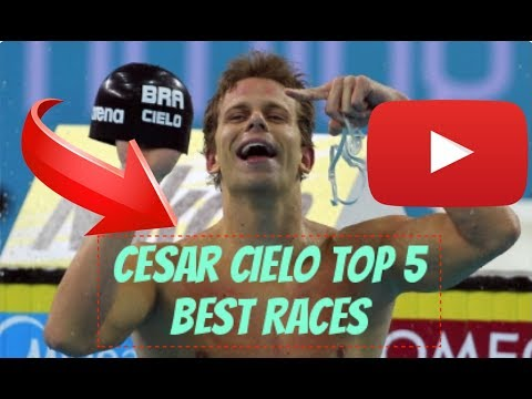 Cesar Cielo: Top 5 Races of all time ft. Trap Lord