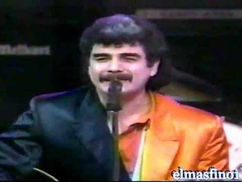 LOS HUMILDES...Visitan a JOHNNY CANALES..1989.