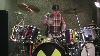 Bert Switzer on Drums - 12.29.08 (#2) Video Diary