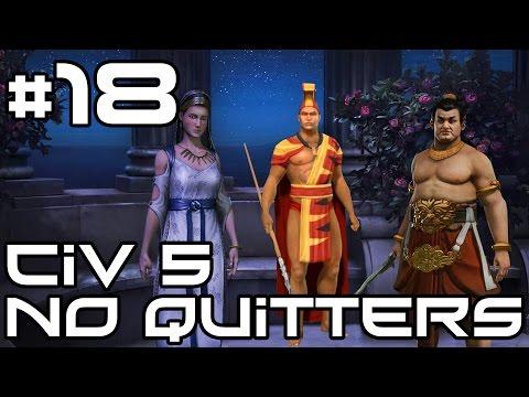 Civ 5 No Quitters Multiplayer - Terraforming! #18