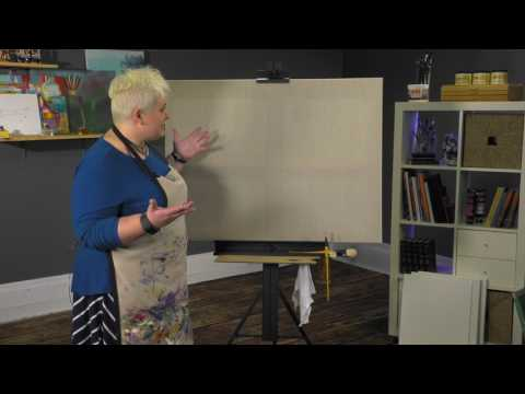 SoHo Aluminum Studio Easel Demonstration - Jerry's