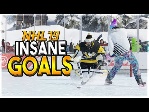 NHL 19 INSANE EASHL GOALS