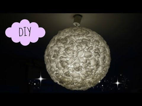 diy 17 suspension boule papier paper lantern youtube. Black Bedroom Furniture Sets. Home Design Ideas