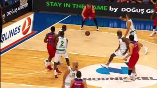 EuroLeague, Round 2 - Top 10 Plays (Victor Rudd on top)