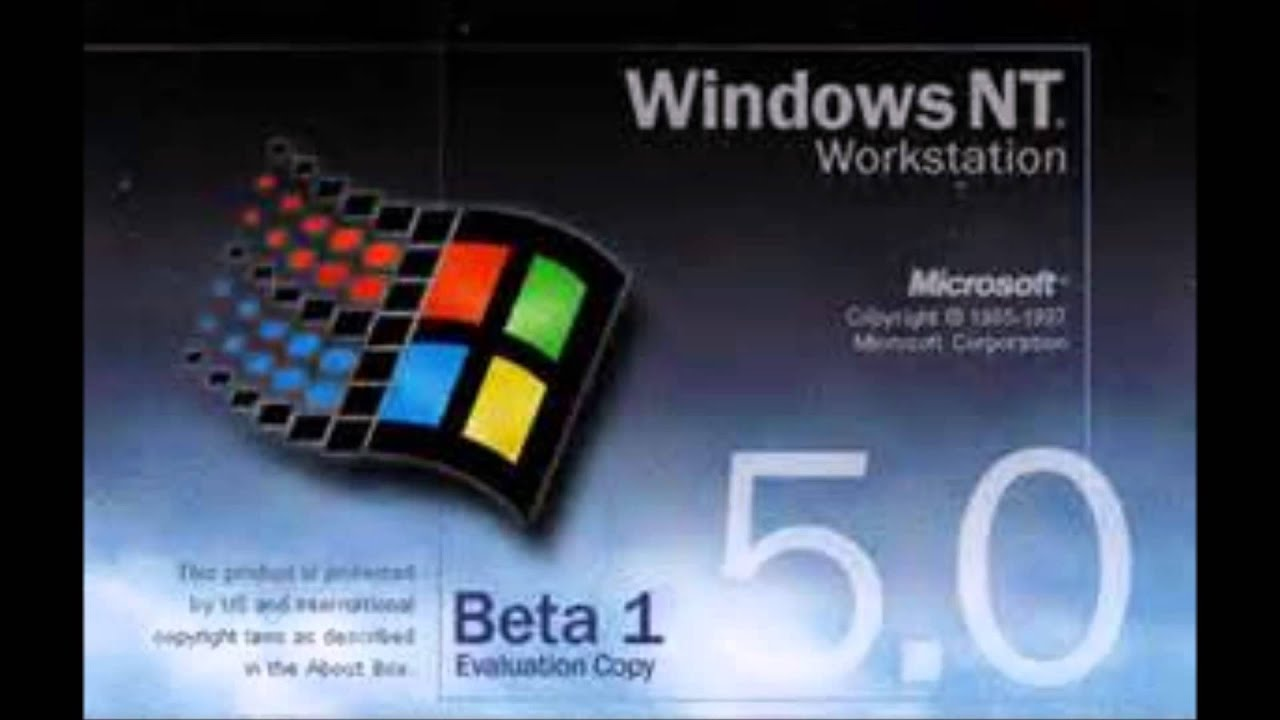 windows nt 5 0 startup sound youtube