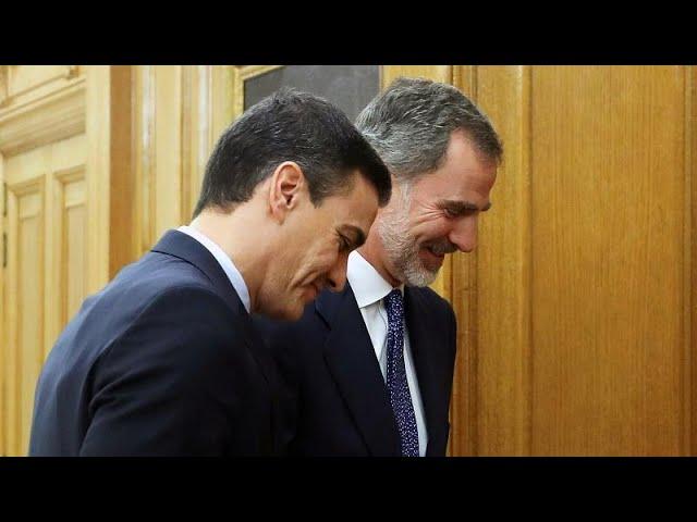 El Rey de España encarga formar Gobierno al socialista Pedro Sánchez