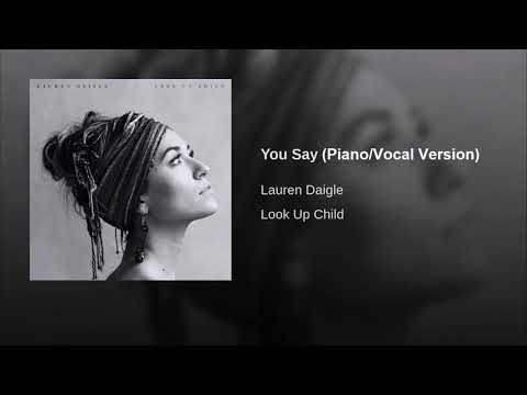 You Say (Piano/Vocal Version)