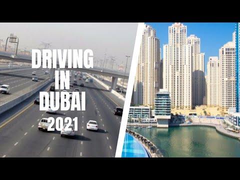 Driving in Dubai 2021
