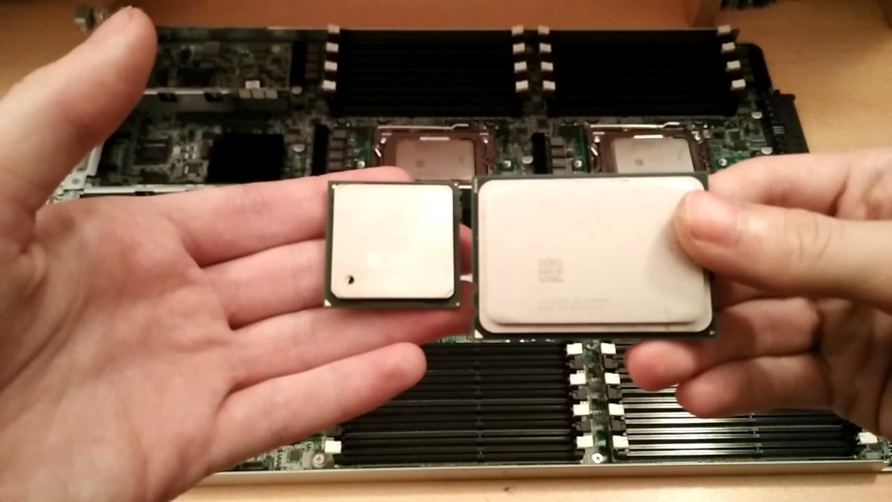4-х процессорная серверная материнская плата | Суперкомпьютер 48 ядер | Часть 1
