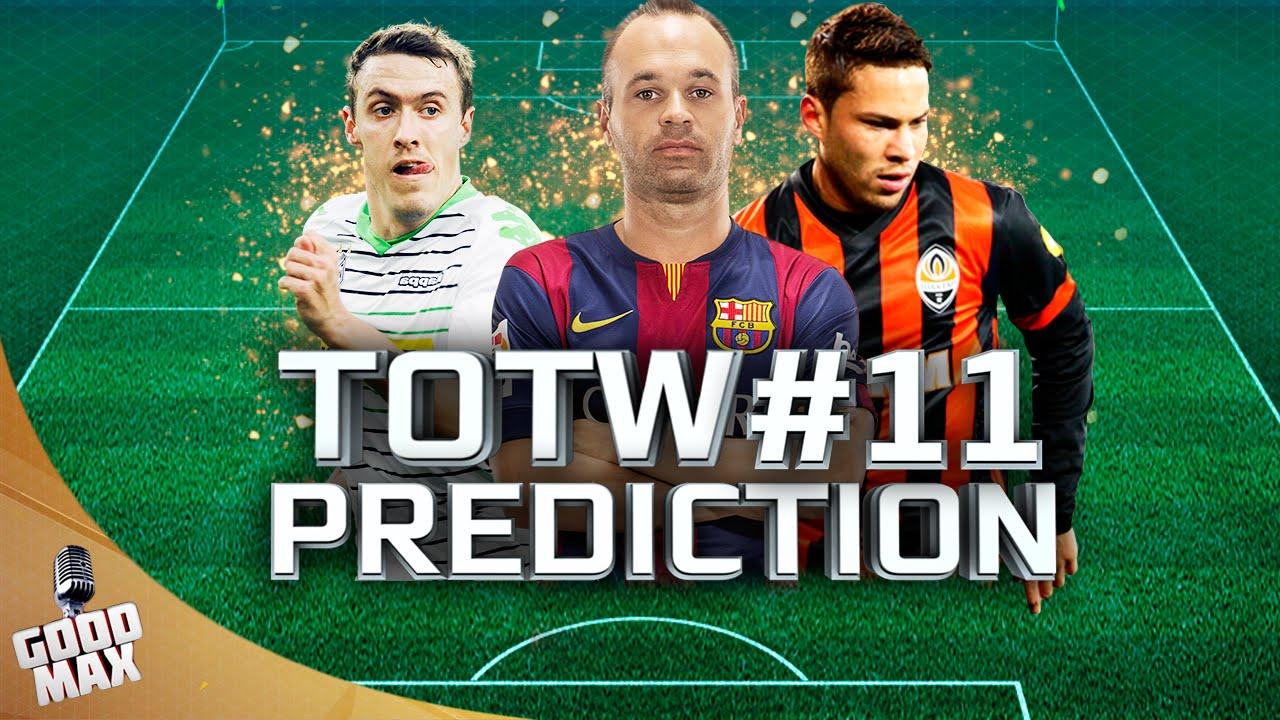 Totw 11 Prediction