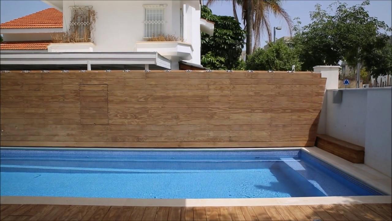 Swimming Pool Bi-Fold Cover