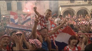 Croatian Fans Proud Despite Team