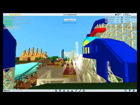 ROBLOX Theme Park Tycoon 2: VinAccGamingYT's Finished California Screamin' NOT MINE