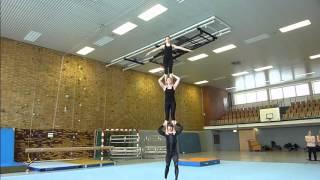 Akrobatik von Jojo 2013 in Münster